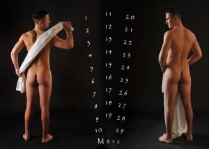 Erotik – Mann mit Badehandtuch