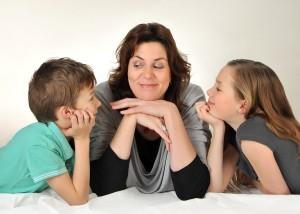Mama und Kinder