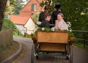 Hochzeitskutsche Arneburg