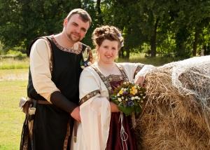 Hochzeits-Portrait Mittelalter