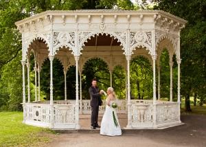 Hochzeits-Portrait Tangerhütter Pavillon