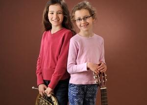 Kinder mit Instrumenten