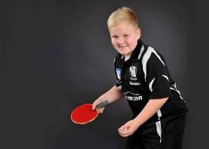 Portrait Tischtennisspieler