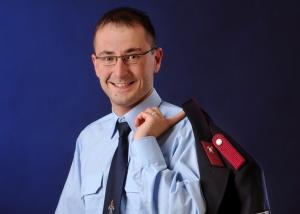 Portrait – Mann in Feuerwehruniform