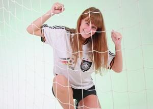 Fußball mit Netz