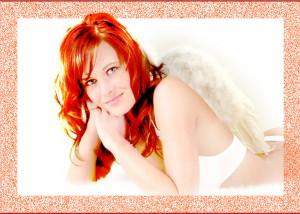 Frau als Engel
